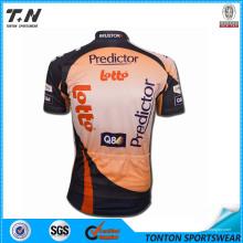 Сублимационная эластичная велоспортивная одежда для мужчин со всей печатью