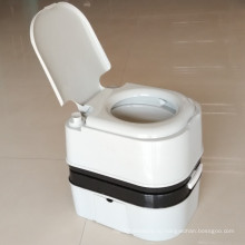 24L Портативный туалет Открытый мобильный туалет Пластиковые