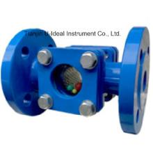 Indicateur de débit de palette, Indicateur de débit d'installation horizontale ou verticale