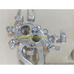 Aluminium Casting Throttle Body Component