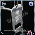 Eloxierter Aluminiumhundetikettenhalskettengroßverkauf