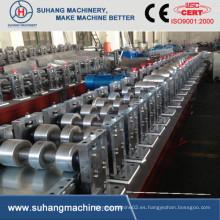 Velocidad del producto 10-15 m / Min. Calidad Viga del rollo que forma la máquina con PLC Panasonic
