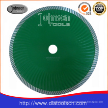 230mm Sintered Turbo Wave Saw Blade for Cutting Stone