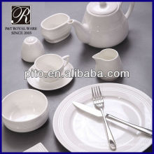 Porcelain hotel dinner ware