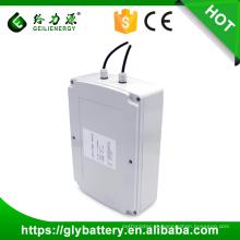 Personalização do cliente 12V 100 ah solar luz de rua solar armazenamento de bateria de lítio