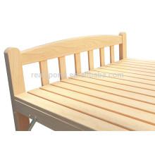 Cama de madera maciza importada Pinus Sylvestris Style de Malasia Cama Diseños Cama