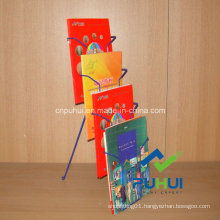 Counter Top Metal Wire Brochure Holder (PHC323)