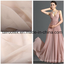 100% Poly Crepe Chiffon for Wedding Dress Fabric