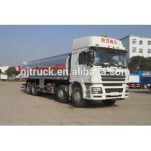 Shacman marque 8X4 conduire le camion-citerne de carburant pour 18-35 mètres cubes