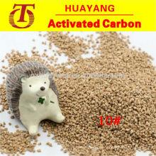 Concha de nogal abrasivo para el tratamiento de aguas residuales y desnatadas