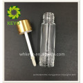 lip gloss form container liquid concealer empty glass tube embossed glass bottle