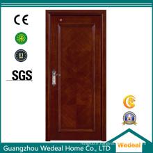 Porte intérieure en placage de bois composite avec grain en bois de chêne