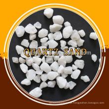 Pedra de quartzo de areia de sílica em massa para venda