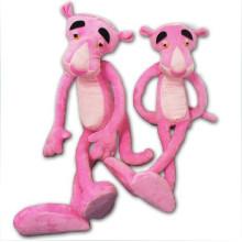 ¡Diseño modificado para requisitos particulares del OEM! Juguete de pantera rosa peluche más suave