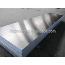 Tôle en aluminium 3104 avec couvercle en film PP bleu