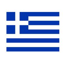 micro fibre travel beach towel greek flag
