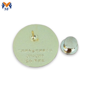 Magneet goud rond badge revers pin