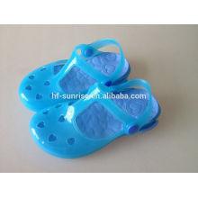Пластиковые дешевые оптовые детская обувь смешные дети обувь детская обувь производит Китай