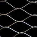 Clôture en acier inoxydable 304 Ferruled Rope Mesh