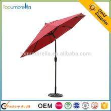 paraguas de sol del patio del hogar y del jardín de los productos chinos de la calidad con el logotipo