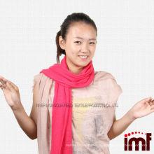 100% Cashmere Knitted Plain Farbe Red Shawl Stolen zum Verkauf - Grün / Baby blau / off white