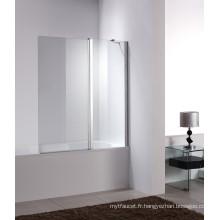 Écrans de baignoire pliante en verre tempéré (W3)