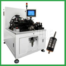 Semi-auto two station armature balancer balancing machine