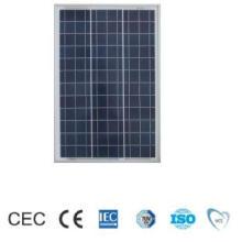 Painel solar cristalino poli de 100W para o mercado global