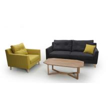 Modernes Gewebe 1 + 2 + 3 Wohnzimmer Sofa