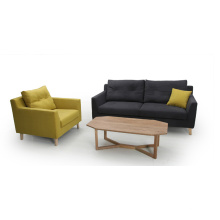 modern fabric 1+2+3 living room sofa