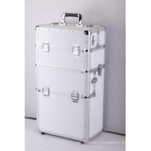 Nous fournissons une valise en aluminium