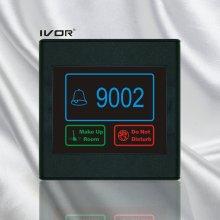 Painel de painel de sistema de campainha de hotel em moldura de esboço de plástico (SK-dB2300S2-R)