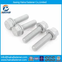 DIN6921 geomet hex flange bolt ISO15072 geomet flange bolt