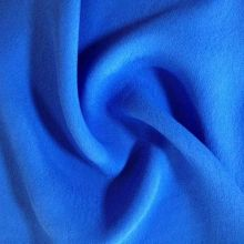 Blue Color 100% Viscose Women Dress Fabrics