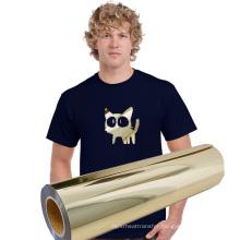 Easy iron Tshirt transfer pet film heat transfer vinyl print For Clothing