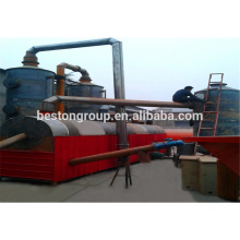 Urban Waste Management, Living/vital dust carbonization machine/plant/equipment/unit/system