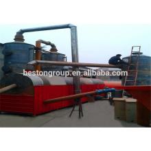 Gestão de Resíduos Urbanos, Máquina de carbonização de poeira vital / vital / planta / equipamento / unidade / sistema