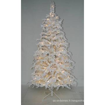 Arbre de Noël artificiel réaliste avec lumière à cordes Décoration à LED multi couleurs (AT2025)