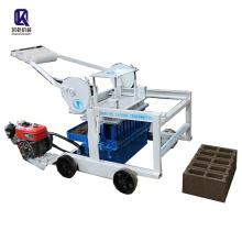 manufacturer direct moving fly ash block QTM4-40D brick machine supplier