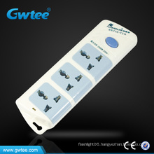 Hot selling 3 gang retractable multiple power plug socket