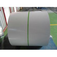 Baustoffe oder farbige Stahlblechspule