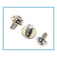 4.8grade Carbon Steel Flange Screw / Hex Flange Bolt
