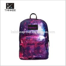 Bacpack personnalisé de mode / sac à dos d'usine de meilleure vente / sac à dos d'impression de couleur