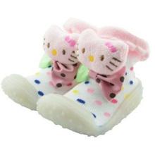 Baby benutzerdefinierte 3D Cartoon Socken mit Gummi Sohle Baby Socken Schuhe