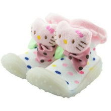 baby custom 3d cartoon socks with rubber sole baby socks shoes