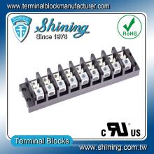 TGP-050-09A 600V 50A 9 Pole Power Supply Spade Terminal Block