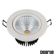 12W Anti-Glare LED Ceilinglight Beam angle 15'24'38' Die-Casting Aluminum Heatsink Ra>80 AC100-260V IP20
