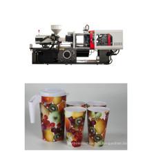 Machine en plastique 220ft de moulage par injection chaude de vente pour l'animal de compagnie / pp / PVC / PMMA en plastique avec l'énergie d'économie de servo moteur et avec le CE $ ISO900 et le certificat de GV