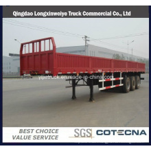 2016 High Quality Tri Axle Side Wall Semi Trailer