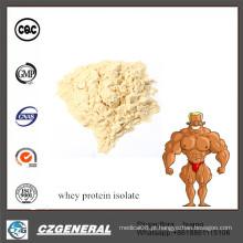 Fornecimento de fábrica Melhor Preço Suplemento Proteína Whey Isolada A Granel